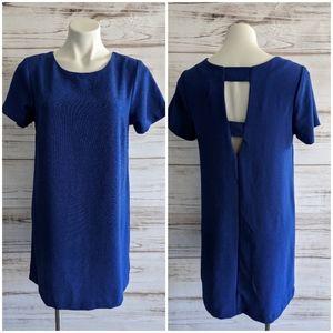 Bobeau Cobalt blue shift dress